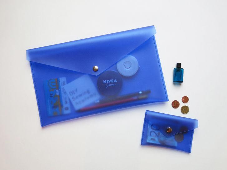 Geldbörse & Clutch im Briefumschlag-Stil aus PVC bei Makerist - Bild 1