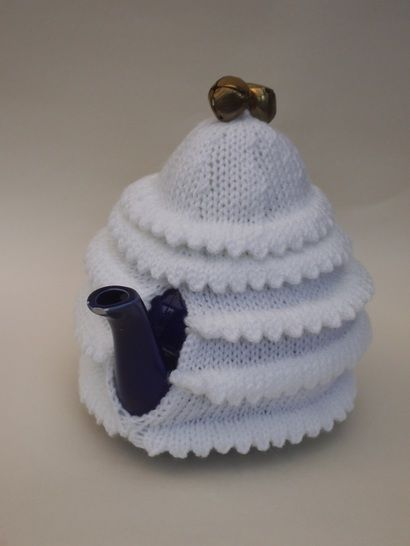 Christmas tree tea cosy at Makerist - Image 1