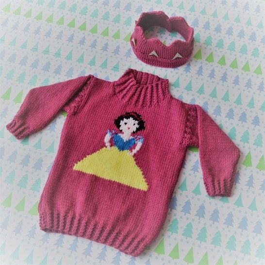Princess Sweater and Crown - Snow White at Makerist - Image 1