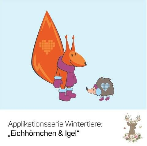 """Applikation """"Eichhörnchen & Igel"""" bei Makerist"""