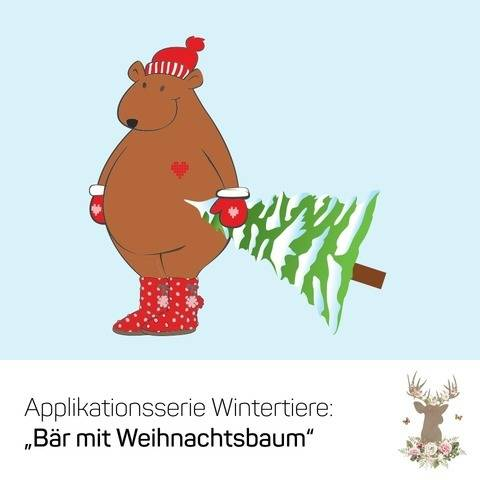 """Applikation """"Bär mit Baum"""" bei Makerist"""