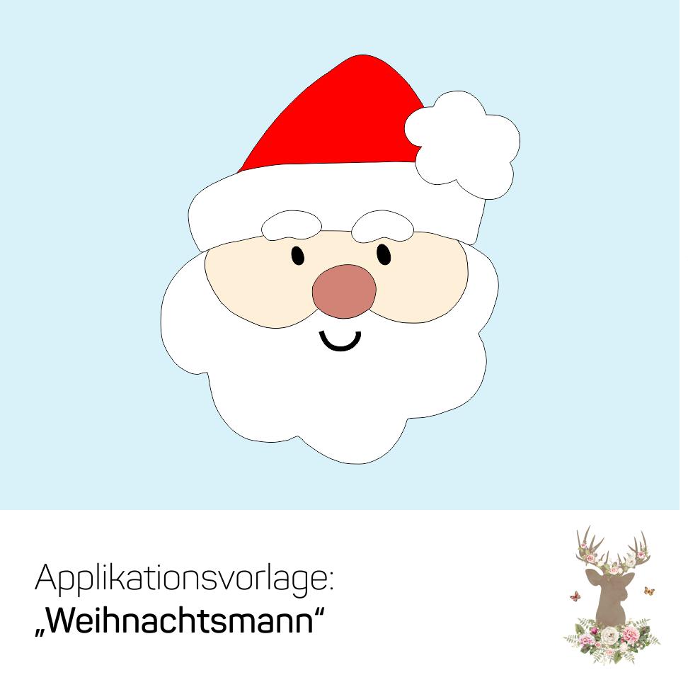 Weihnachtsmann Vorlage