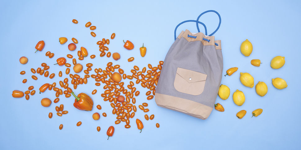 leather and canvas kitbag duffle bucket bag at Makerist - Image 1