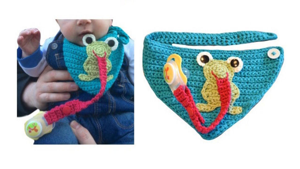 "E-Book ""Frog Bib"" at Makerist - Image 1"
