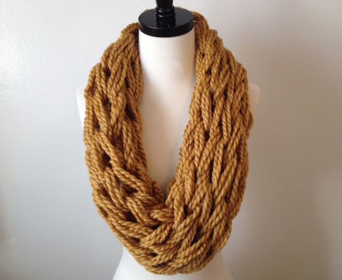 Arm knit cowl at Makerist - Image 1