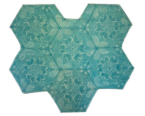 Kaleidoscope Shawl at Makerist