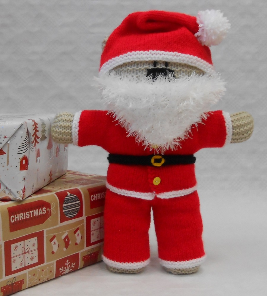 Santa Claus costume for teddy bear