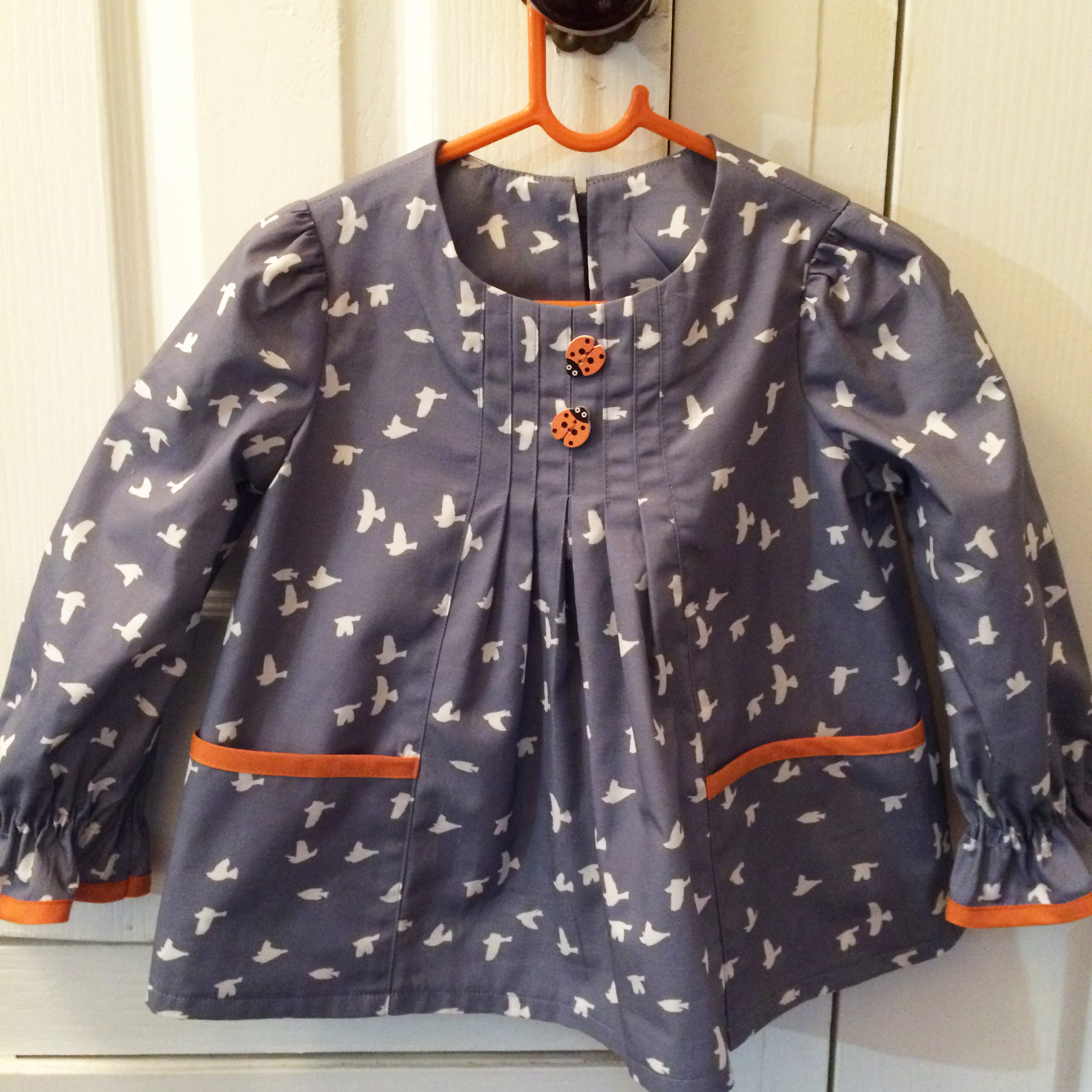 Girls dress, tunic or top sewing pattern -- Shelley Dress or Top