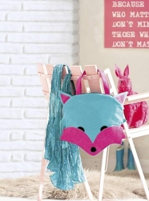 Set im Fuchsdesign