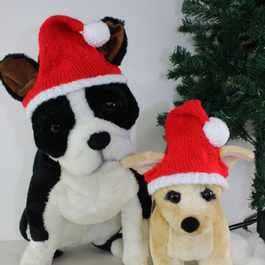 FREE Dog Christmas Santa Hat at Makerist - Image 1