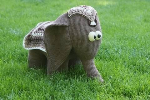 Häkelanleitung Elefant Indi