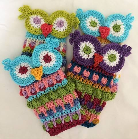 Moroccan Owl Eyeglass or Accessory Case at Makerist