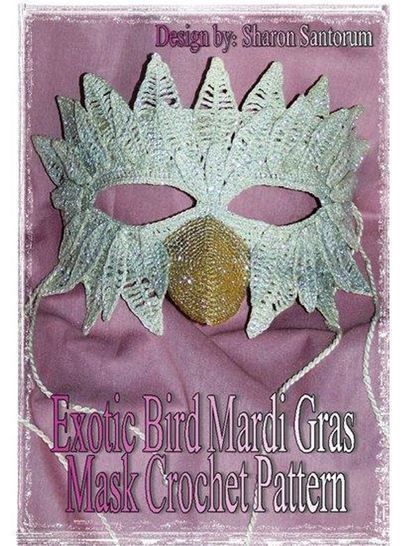 Exotic Bird Mardi Gras or Halloween Mask at Makerist - Image 1