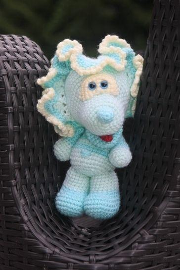 Häkelanleitung Trixie, das Fabeltier bei Makerist - Bild 1