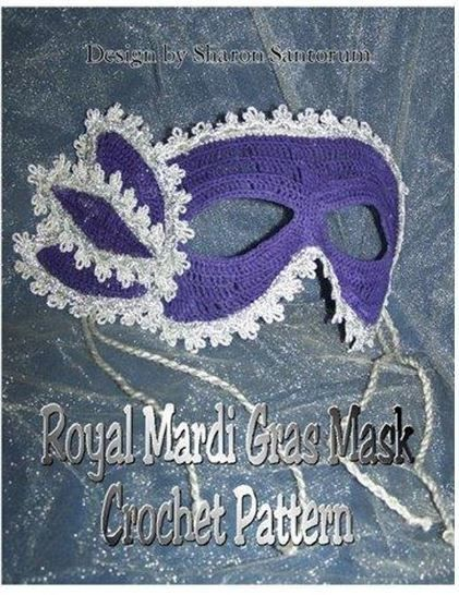 Royal Mardi Gras or Halloween Mask at Makerist - Image 1