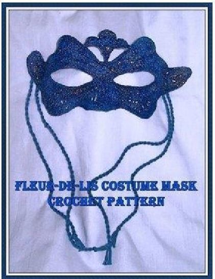 Fleur de-ls Mardi gras or Halloween Mask at Makerist - Image 1