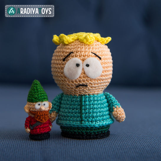 Crochet Pattern of Butters and Underpants Gnome by AradiyaToys at Makerist - Image 1