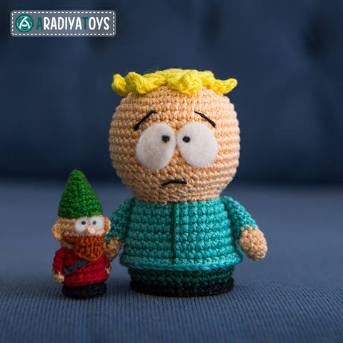 Crochet Pattern of Butters and Underpants Gnome by AradiyaToys at Makerist