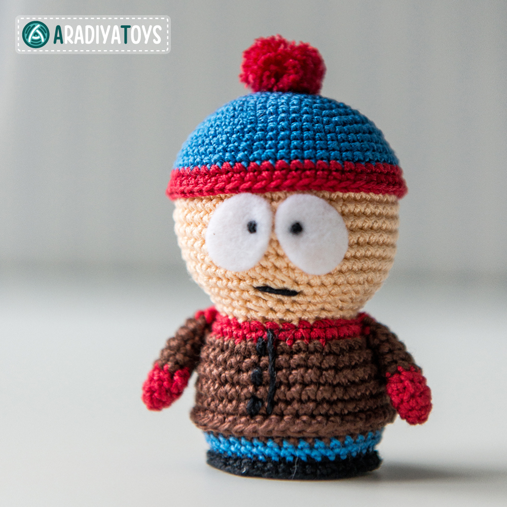 Crochet Pattern of Stan Marsh by AradiyaToys