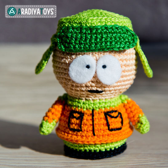 Crochet Pattern of Kyle Broflovski by AradiyaToys at Makerist - Image 1