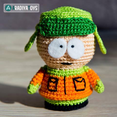 Crochet Pattern of Kyle Broflovski by AradiyaToys at Makerist