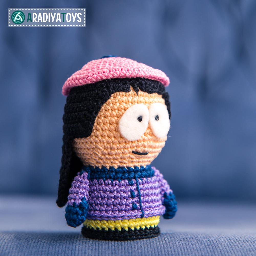 Crochet Pattern of Wendy Testaburger by AradiyaToys