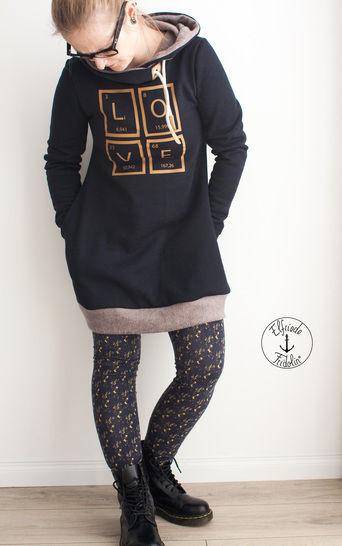 Kapuzenerweiterung zum Kleid und Tunika Vestis bei Makerist - Bild 1