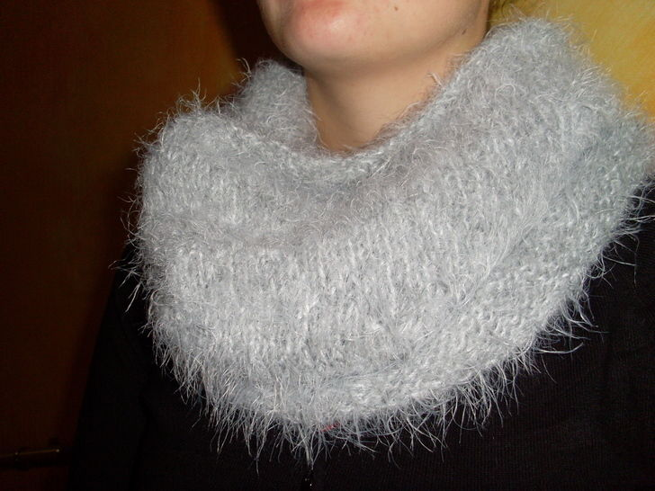 SNOOD poilu - tricot chez Makerist - Image 1