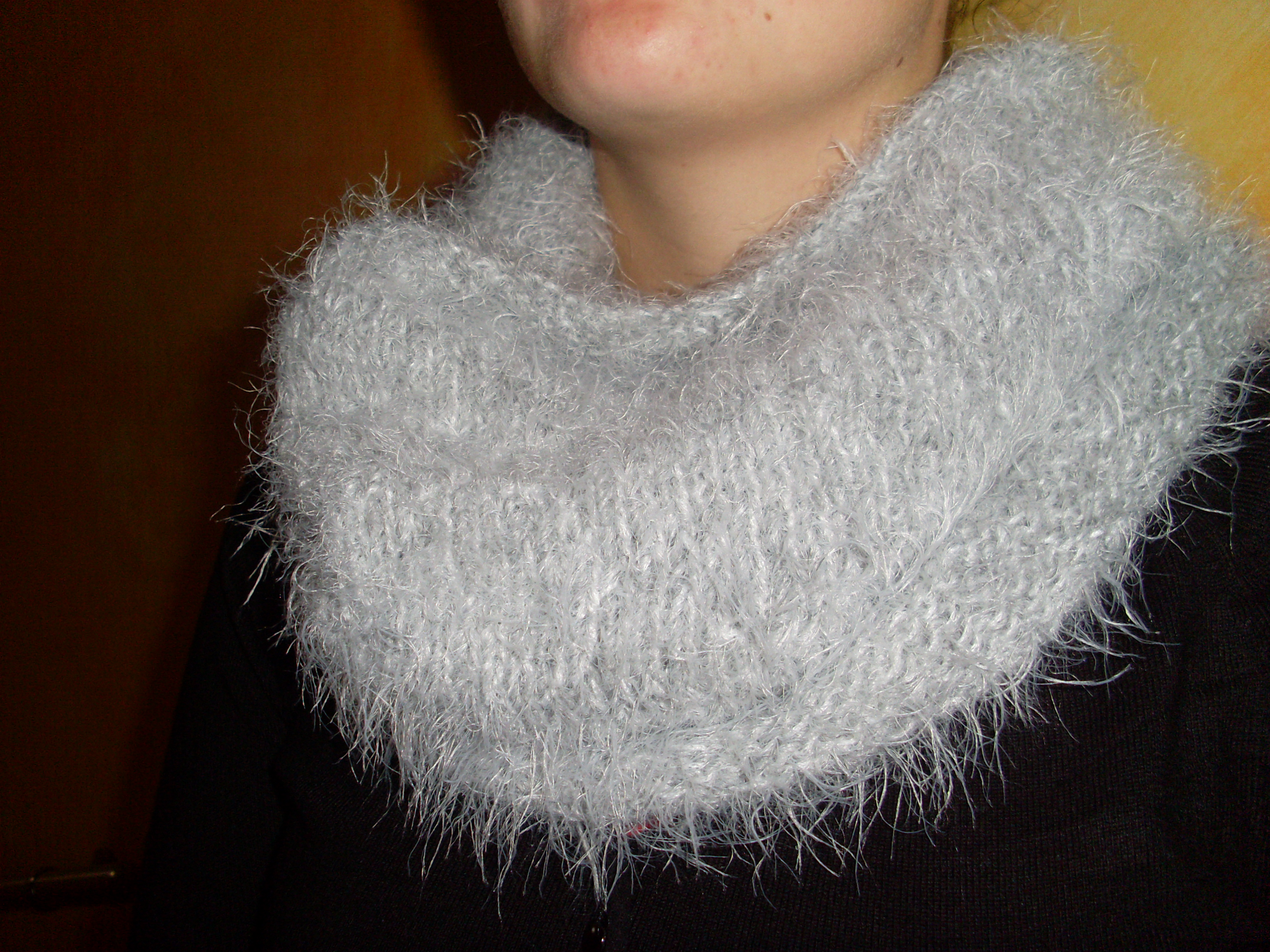 SNOOD poilu - tricot