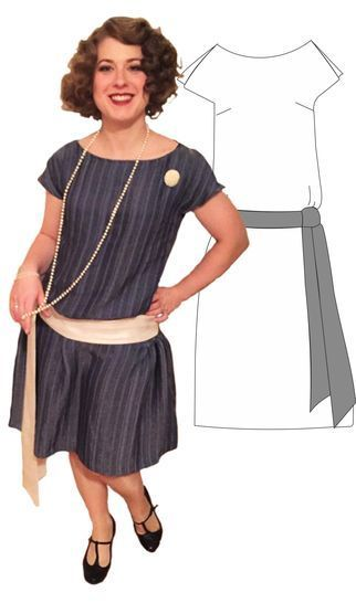 "20s Flapperdress ""Shimmy at Makerist - Image 1"