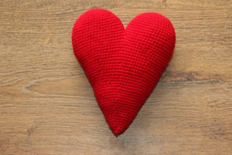 Häkelanleitung großes Herz