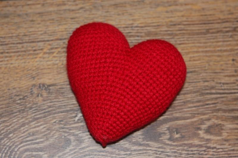 Häkelanleitung kleines Herz