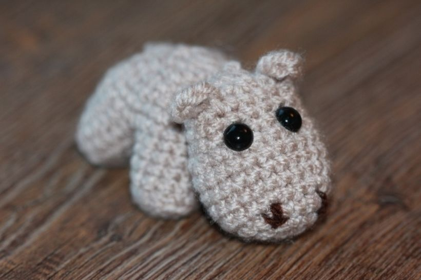 Häkelanleitung Mini-Hippo bei Makerist - Bild 1
