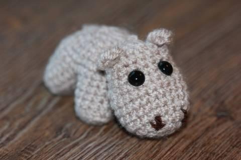 Häkelanleitung Mini-Hippo bei Makerist