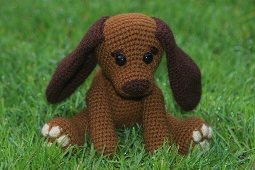 Häkelanleitung Hund Lisa bei Makerist - Bild 1