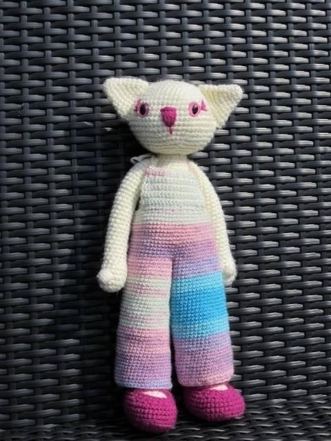 Häkelanleitung kitty the cat