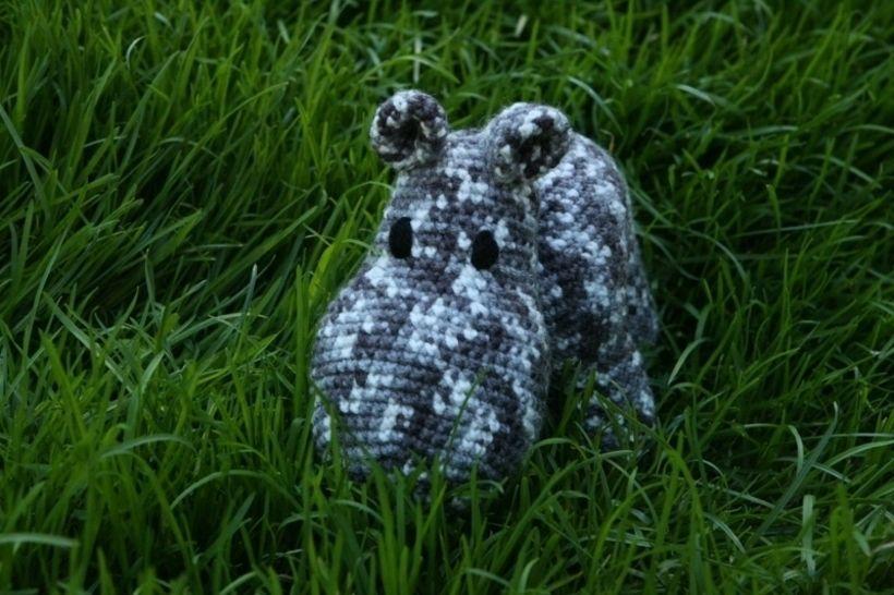 Mama Hippo Häkelanleitung bei Makerist - Bild 1