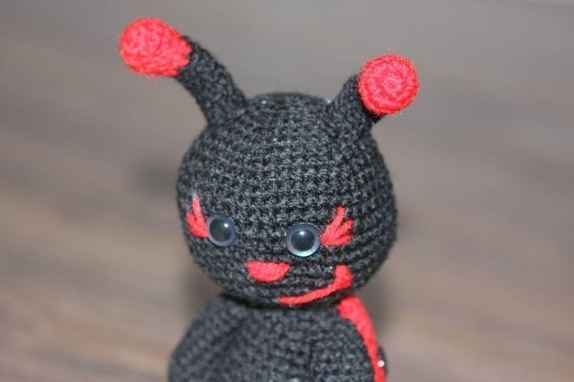 Häkelanleitung Käferli der Marienkäfer bei Makerist - Bild 1
