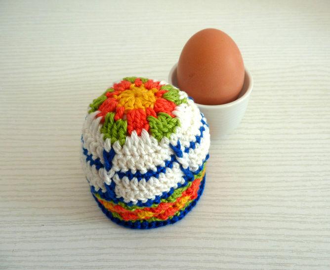 Häkelanleitung Eierwärmer bei Makerist - Bild 1