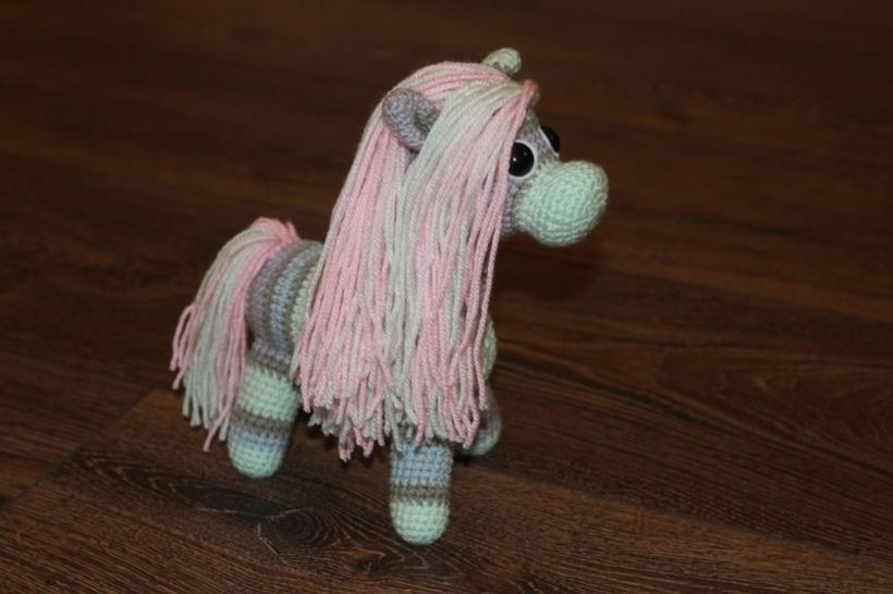 Pony Hotti Häkelanleitung bei Makerist - Bild 1