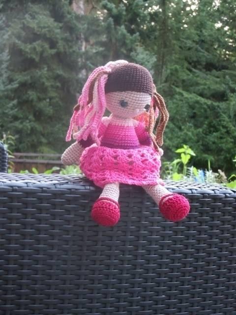 Häkelanleitung Puppe Mayara