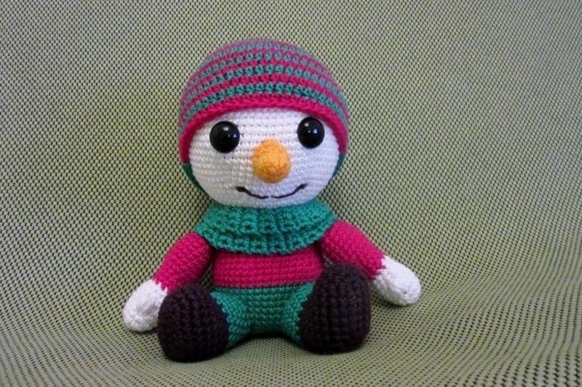Häkelanleitung Frosty, der Schneemann bei Makerist - Bild 1