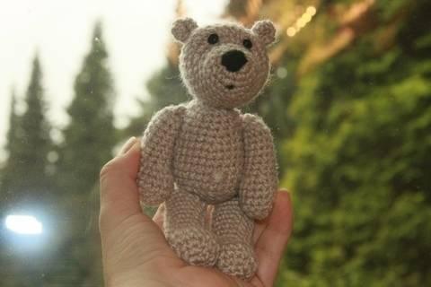 Häkelanleitung Mini-Bär