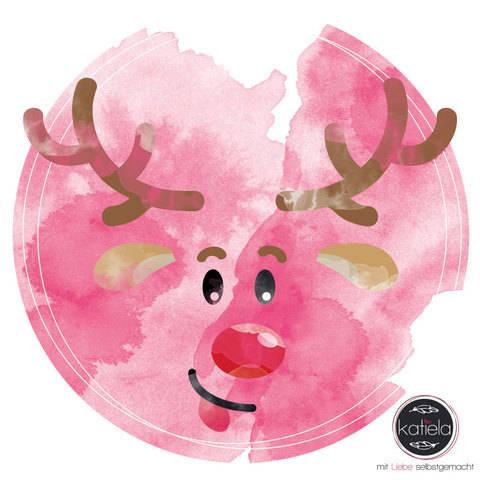 Plottervorlage Weihnachtsquartett Elchbert