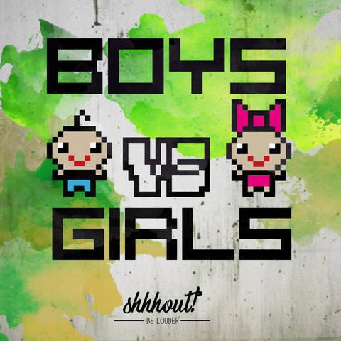 BOYS VS GIRLS - Plotterdatei