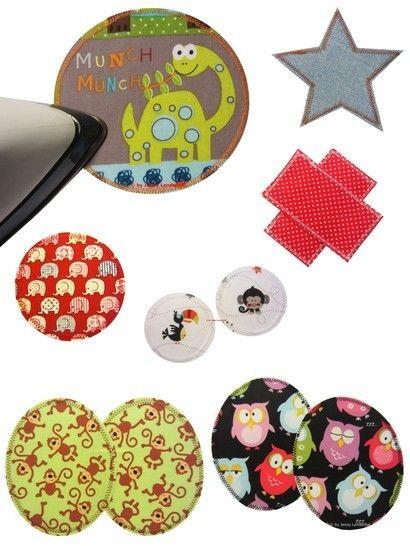 Reissfeste,stabile Aufnäher/Knieflicken/Bügelbilder selber machen, Anleitung & Schablonen bei Makerist - Bild 1