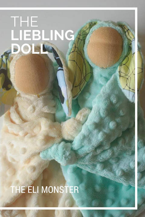 The Leibling Doll Waldorf Doll PDF Sewing Pattern at Makerist