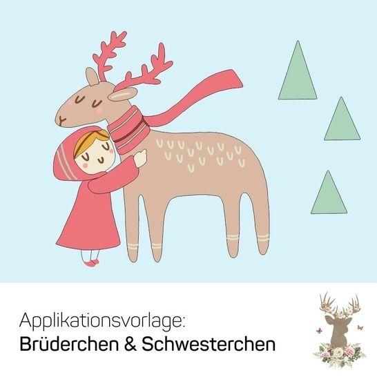 """Applikation """"Brüderchen & Schwesterchen"""" bei Makerist - Bild 1"""