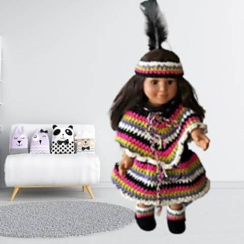 Indian Doll Clothes Pattern