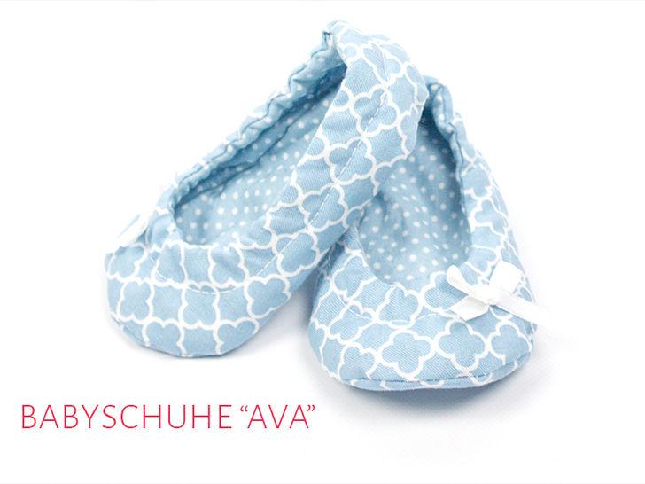 """Babyschuhe """"Ava"""" Gr. 14 - 19 bei Makerist - Bild 1"""